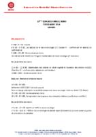 Pré programme V1 310818