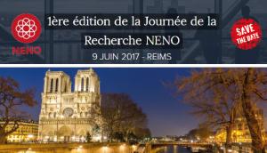SAVE THE DATE journée recherche 2017 NENO